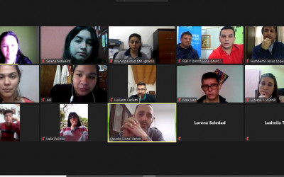Referentes estudiantiles de San Ignacio se capacitaron sobre el aplicativo Estudiantes Misioneros