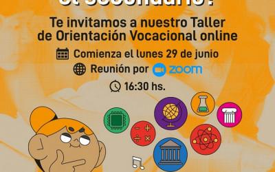 La Universidad Gastón Dachary  invita al Taller de Orientación Vocacional Online.