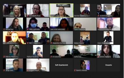 Con la presencia de referentes de toda la Provincia se realizó el lanzamiento de el Aplicativo Estudiantes Misioneros
