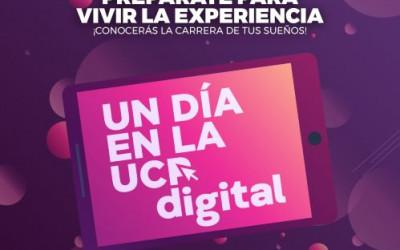 La Universidad de la Cuenca del Plata invita a un día en la  UCP digital.