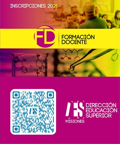 Pre-inscripción ciclo lectivo 2021 Formación Docente y Tecnicaturas Superiores.
