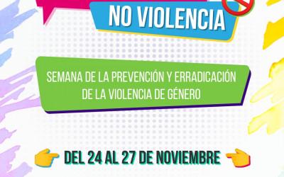 SEMANA VIRTUAL DE LA EDUCACIÓN EN IGUALDAD PARA PREVENIR LA VIOLENCIA
